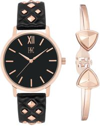 INC International Concepts - Faux Leather Strap Watch 38mm Gift Set, Created For Macy's - Lyst