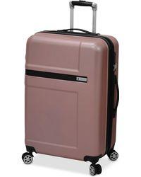 "London Fog   Southbury 25"" Hardside Expandable Spinner Suitcase   Lyst"