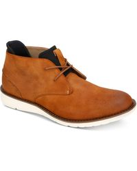 Kenneth Cole Reaction - Casino Leather Chukka Boot - Lyst