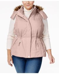 American Rag - Trendy Plus Size Puffer Vest, Only At Macy's - Lyst