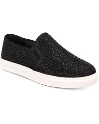 Material Girl - Eidyth Slip-on Embellished Sneakers, Created For Macy's - Lyst