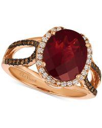 Le Vian - Rhodalite Garnet (3-1/3 Ct. T.w.) & Diamond (3/8 Ct. T.w.) Ring In 14k Rose Gold - Lyst