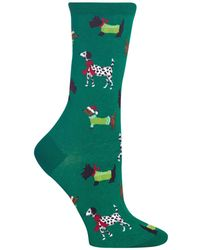 Hot Sox - Cozy Dogs Crew Socks - Lyst