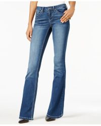 Earl Jean - Embroidered Bootcut Jeans - Lyst