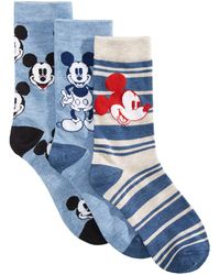 Disney - 3-pk. Mickey Mouse Socks Gift Box - Lyst
