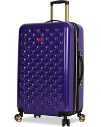 "Betsey Johnson - Heart To Heart 26"" Hardside Expandable Spinner Suitcase - Lyst"