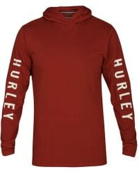 Hurley - The One Logo-print Pullover Hoodie - Lyst