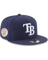 finest selection d0d9a f6de6 ... good ktz tampa bay rays sandlot patch 59fifty fitted cap lyst 19385  ca521