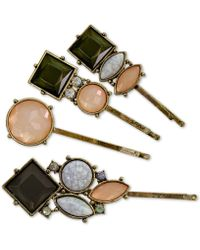 Guess - 4-pc. Set Jeweled Hair Pins - Lyst