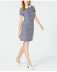 Maison Jules - Peter-pan-collar Dress, Created For Macy's - Lyst