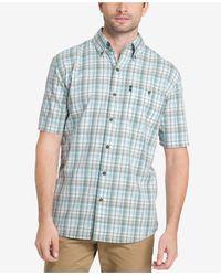 G.H.BASS - Men's Madawaska Trail Plaid Coton Shirt - Lyst