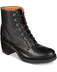 Frye - Women's Sabrina Lace-up Boots - Lyst
