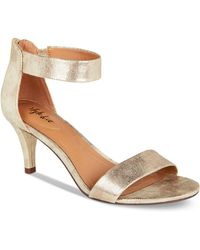 Style & Co. - Style&co. Paycee Two-piece Dress Sandals, Only At Macy's - Lyst