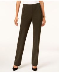 a3cf30ad3 Style   Co. - Tummy-control Pull-on Pants - Lyst