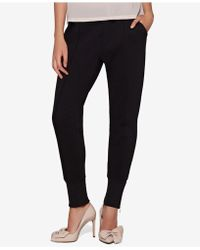 Avec Les Filles - Jogger Pants With Exposed-zipper Cuffs - Lyst