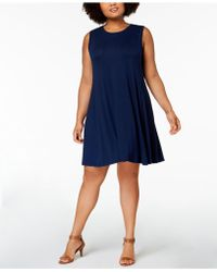 Style & Co. - Plus Size Swing Dress, Created For Macy's - Lyst