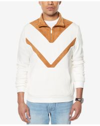 Sean John - Men's Quarter-zip Shirt - Lyst