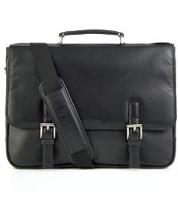Kenneth Cole Reaction - Kenneth Cole Single Gusset Expandable Messenger/computer Case - Lyst