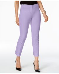 Alfani - Cropped Pants, Created For Macy's - Lyst