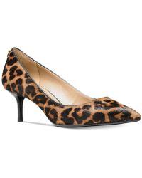 Michael Kors - Mk-flex Kitten-heel Court Shoes - Lyst