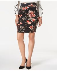 Alfani - Petite Printed Pull-on Skirt, Created For Macy's - Lyst
