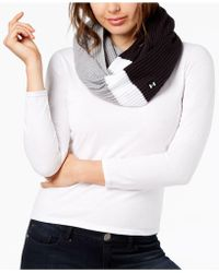 Under Armour - Favorite Waffle-knit Infinity Scarf - Lyst