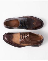 Johnston & Murphy - Fletcher Wingtip Lace-up Oxfords - Lyst
