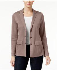 Style & Co. - Three-button Blazer - Lyst