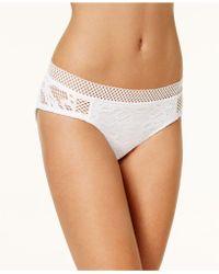 Becca - Lace Hipster Bikini Bottoms - Lyst