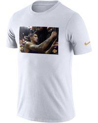 Nike - Kyle Kuzma Los Angeles Lakers Rookie Photo Reel T-shirt - Lyst