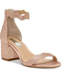 INC International Concepts - I.n.c. Hadwin Scallop Block-heel Sandals, Created For Macy's - Lyst