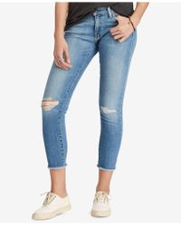 Denim & Supply Ralph Lauren - Cotton Morgan Crop Skinny Jeans - Lyst