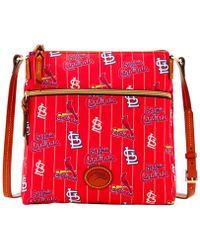 Dooney & Bourke - St. Louis Cardinals Nylon Crossbody Bag - Lyst
