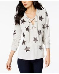 INC International Concepts - I.n.c. Embellished Star Hoodie, Created For Macy's - Lyst