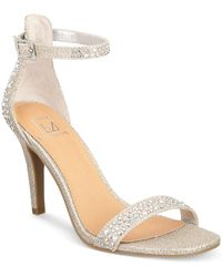 Material Girl - Blaire Two-piece Sandals - Lyst