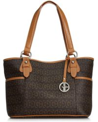 Giani Bernini - Block Signature Tote - Lyst