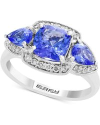 Effy Collection - Final Call By Effy® Tanzanite (2-3/8 Ct. T.w.) & Diamond (1/5 Ct. T.w.) Ring In 14k White Gold - Lyst
