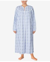 Lanz of Salzburg - Plus Size Cotton Printed Nightgown - Lyst