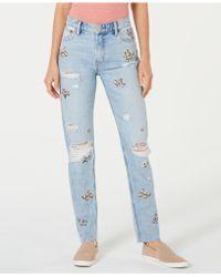 2ffc89f9edd Lucky Brand Sienna Beach Break Wash Boyfriend Jeans in Blue - Lyst