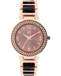 INC International Concepts - Marbled Acrylic Bracelet Watch 36mm, Created For Macy's - Lyst