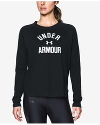 Under Armour | Charged Cotton® Long-sleeve T-shirt | Lyst