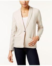 Style & Co. - Petite French-terry Blazer - Lyst