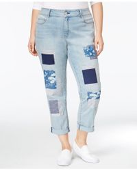 American Rag - Trendy Plus Size Nola Wash Girlfriend Jeans - Lyst