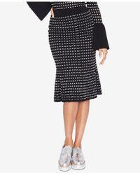 RACHEL Rachel Roy - Textured Fit & Flare Skirt, Created For Macy's - Lyst