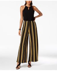 INC International Concepts - I.n.c. Striped Wide-leg Jumpsuit, Created For Macy's - Lyst
