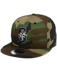 the best attitude 41bf3 b07f5 KTZ Los Angeles Dodgers Camo Spec 9fifty Snapback Cap in Green for Men -  Lyst