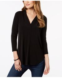 Charter Club - 3/4-sleeve Top - Lyst