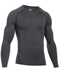 Under Armour | Men's Heatgear® Long-sleeve Compression Shirt | Lyst