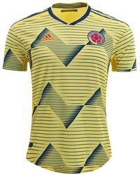 ba58841e7ea adidas Originals Colombia Mash-up Jersey in Yellow for Men - Lyst