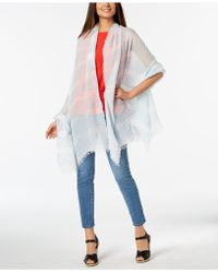 Betsey Johnson - Shimmer Stripe Day Cover-up & Wrap - Lyst